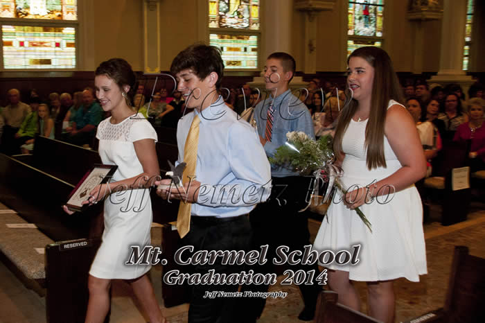 14015 Mt Carmel School Graduation