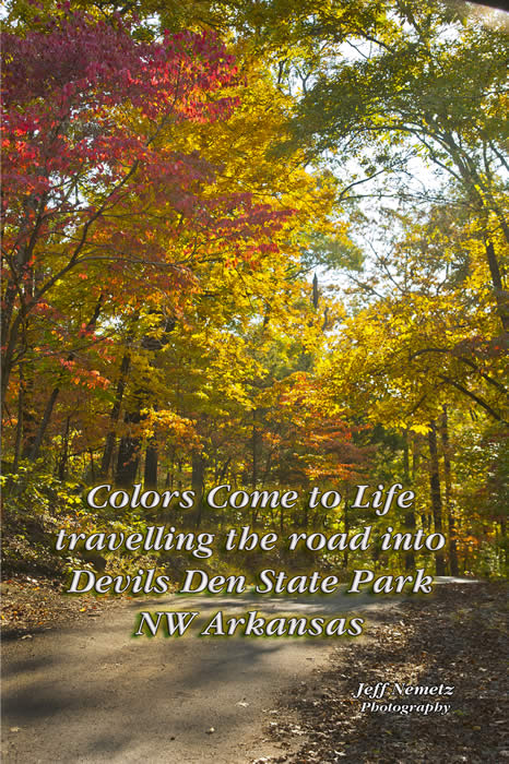 2013  1027 Devils Den Fall Colors